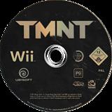 TMNT: Teenage Mutant Ninja Turtles Wii disc (RTMP41)