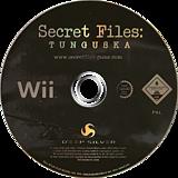 Secret Files: Tunguska Wii disc (RTUPKM)