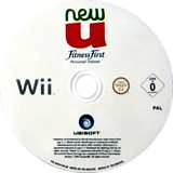 NewU Fitness First Personal Trainer Wii disc (RU4X41)