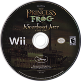 The Princess and the Frog (Riverboat Jazz Edition) Wii disc (RU5Y4Q)