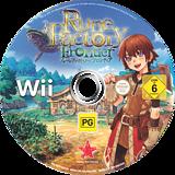 Rune Factory: Frontier Wii disc (RUFP99)