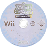 Animal Crossing: Let's Go to the City Wii disc (RUUP01)