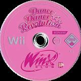 Dance Dance Revolution: Winx Club Wii disc (RW6PA4)