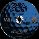 We Love Golf! Wii disc (RWGP08)