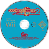 Cooking Mama 2: World Kitchen Wii disc (RWKPGT)