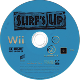 Surf's Up Wii disc (RXUX41)