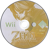 The Legend of Zelda: Twilight Princess Wii disc (RZDP01)