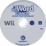 My Word Coach: Develop your vocabulary Wii disc (RZYP41)