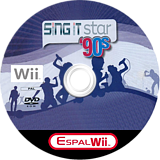Sing It Star 90's CUSTOM disc (S02PES)