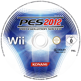 Pro Evolution Soccer 2012 Wii disc (S2PXA4)