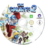 The Smurfs 2 Wii disc (S2XP41)