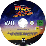 Back to the Future: The Game Wii disc (S5BPKM)