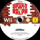 Wreck-It Ralph Wii disc (S6RP52)
