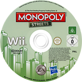 Monopoly Streets Wii disc (S75P69)
