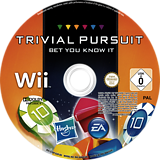 Trivial Pursuit:Casual Wii disc (S7BP69)