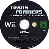 Transformers: Ultimate Battle Edition Wii disc (S7EP52)