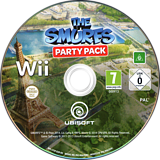 The Smurfs Party Pack Wii disc (S7SP41)
