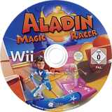Aladin: Magic Racer Wii disc (SARPNK)