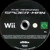 The Amazing Spider-Man Wii disc (SAZP52)