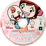 Cooking Mama World: Babysitting Mama Wii disc (SBWPGT)
