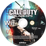 Call of Duty: Black Ops Wii disc (SC7I52)