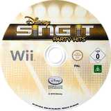 Disney Sing It: Party Hits Wii disc (SDIP4Q)