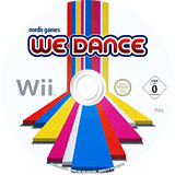 We Dance Wii disc (SDSPNG)