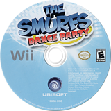 The Smurfs Dance Party - Walmart Edition Wii disc (SDUX41)