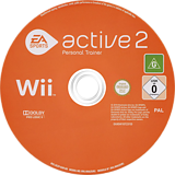 EA Sports Active 2 Wii disc (SE2P69)