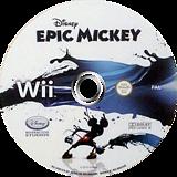 Disney Epic Mickey Wii disc (SEMZ4Q)