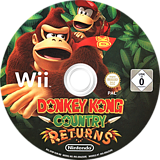 Donkey Kong Country Returns Wii disc (SF8P01)
