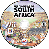 2010 FIFA World Cup South Africa Wii disc (SFWZ69)
