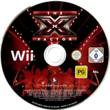 The X Factor Wii disc (SFXPKM)