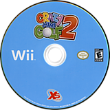 Crazy Mini Golf 2 Wii disc (SG2YFS)