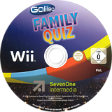 Galileo Family Quiz Wii disc (SG6DSV)