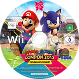 Mario & Sonic at the London 2012 Olympic Games Wii disc (SIIP8P)