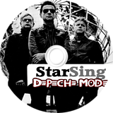 SingItStar Depeche Mode CUSTOM disc (SISDEM)