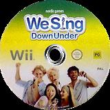 We Sing Down Under Wii disc (SIUUNG)