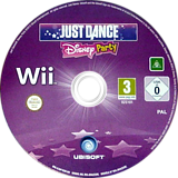 Just Dance Disney Party Wii disc (SJ6P41)