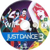 Just Dance 3 Wii disc (SJDP41)
