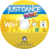 Just Dance Kids Wii disc (SJZP41)