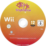 Kylie Sing & Dance Wii disc (SK5PY1)