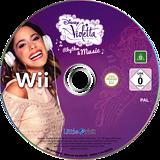 Disney Violetta: Rhythm & Music Wii disc (SK7PVZ)