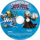 Skylanders: Trap Team Wii disc (SK8V52)