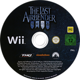 The Last Airbender: Special Edition Wii disc (SLAX78)