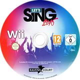 Let's Sing 2016 Wii disc (SLGPKM)