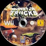 Monster Trucks: Ultra Mega Xtreme!!! Wii disc (SM4PXT)