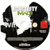 Call of Duty: Modern Warfare 3 Wii disc (SM8P52)