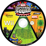 Marvel Super Hero Squad: The Infinity Gauntlet Wii disc (SMSP78)