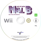 Get Fit with Mel B Wii disc (SNGPLG)